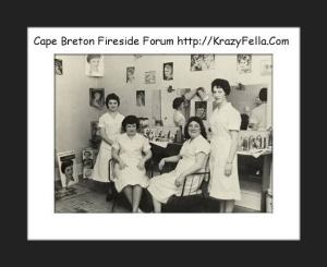 Caperpics old photos and memories of cape breton nova for Aberdeen college beauty salon