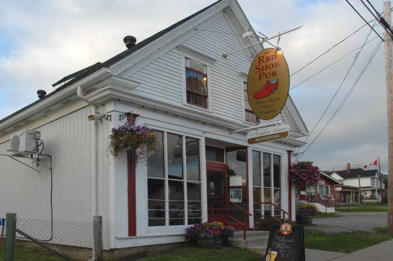 Red Shoe Pub Mabou History
