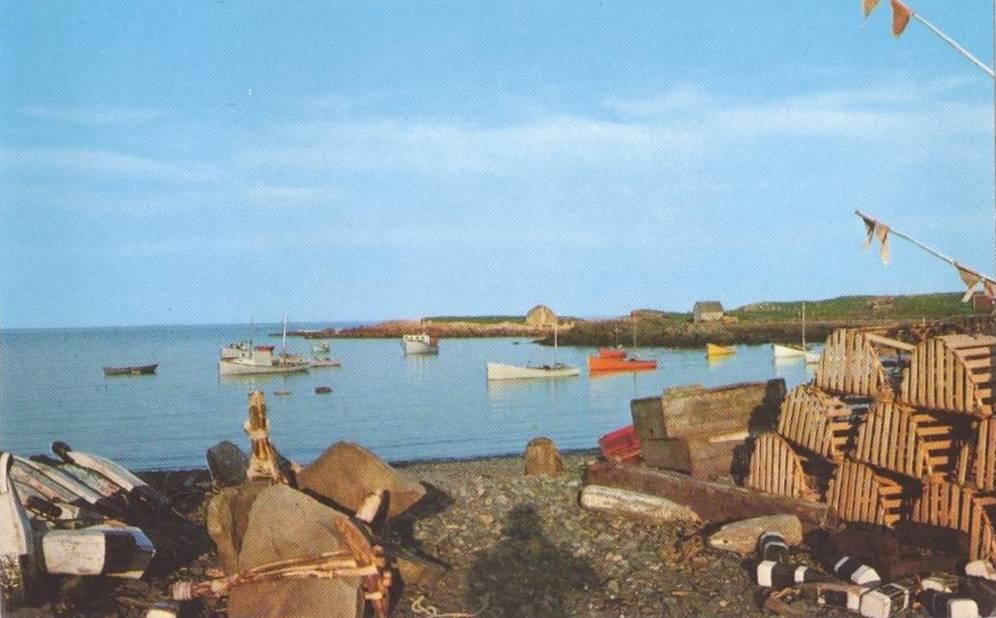 Lobster Traps Petit De Grat Isle Madame Cape Breton