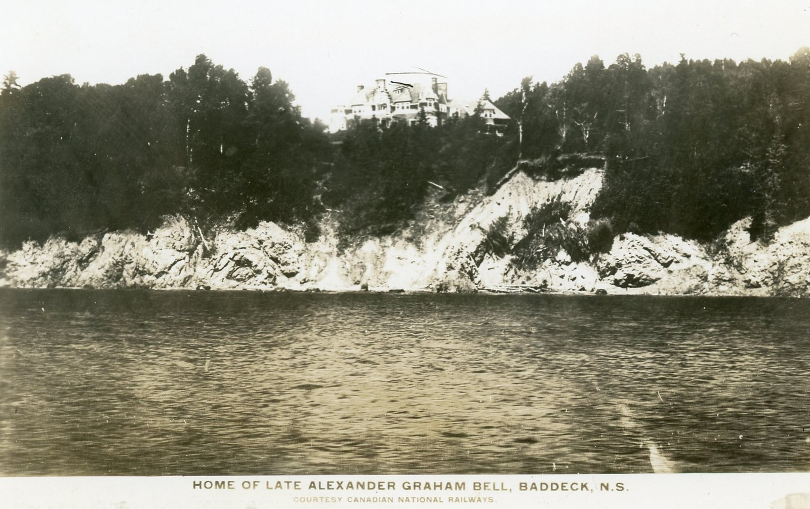 home of late alexander graham bell baddeck cape breton nova scotia old photos and memories. Black Bedroom Furniture Sets. Home Design Ideas